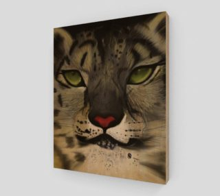 "Snow Leopard Wall Art 8"" x 10"" preview"