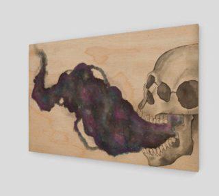 Smoking Skeleton Wall Decor preview
