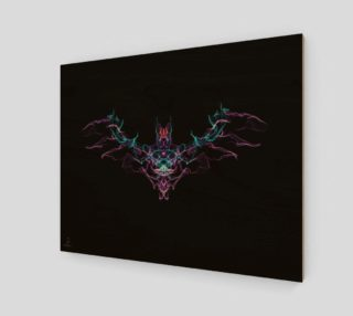 Bat Crazy Gothic Art Print by Tabz Jones preview