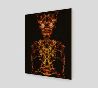 Demon Oracle fantasy art print by Tabz Jones preview