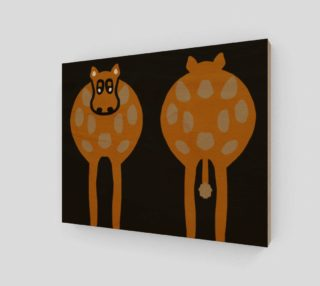 """Silly Cow Wall Art 10"""" x 8"""" preview"""