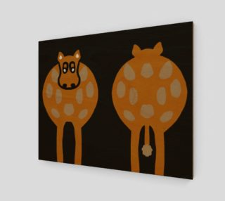 """Silly Cow Wall Art 20"""" X 16"""" preview"""