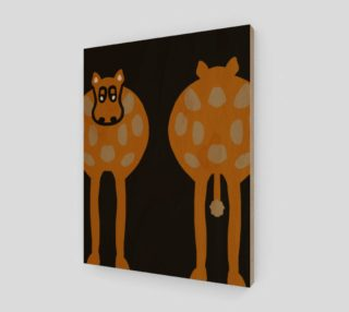 """Silly Cow Wall Art 11"""" x 14"""" preview"""