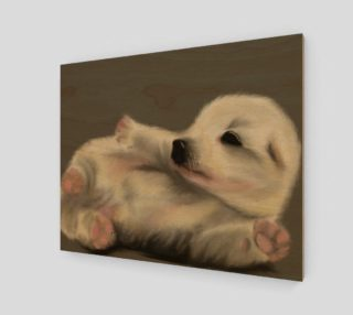 """Adorable Puppy Wall Art 20"""" x 16"""" preview"""