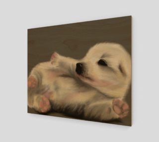 """Adorable Puppy Wall Art 24"""" x 20"""" preview"""