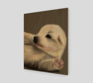 """Adorable Puppy Wall Art 16"""" x 20"""" preview"""