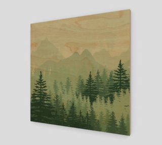 Forest Pine Art Print preview