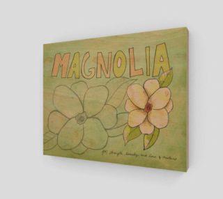 Magnolia 8x10 preview