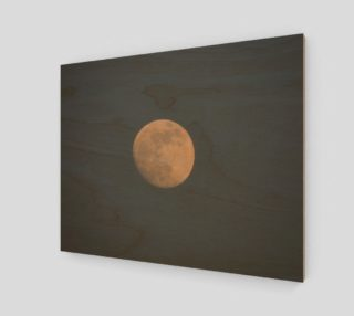 Aperçu de Moon and blue sky Art Print