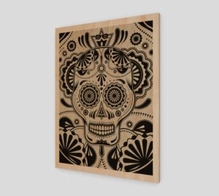 Sugar Skull Aztec Art preview