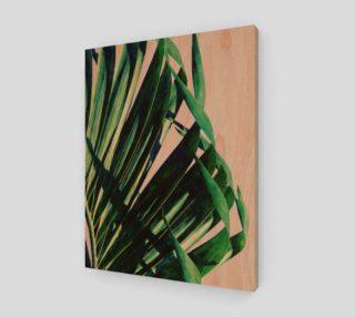Aperçu de Palm V2 Wood Print 11x14