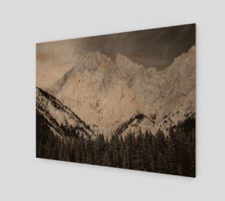 Imposing Ridge-B&W Wall Art preview