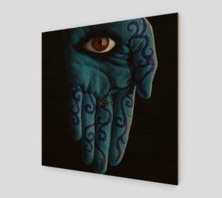 Hamsa Eye Print preview