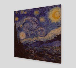 Vincent Van Gogh Starry Night Art Print preview