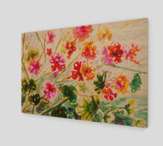 wall_art_Tangy Geraniums preview