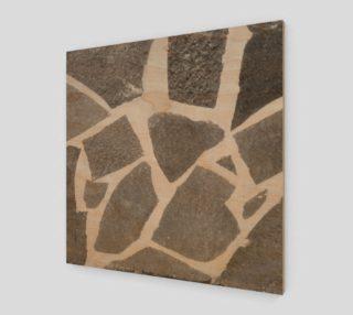 Gray White Stone Mosaic Pattern preview