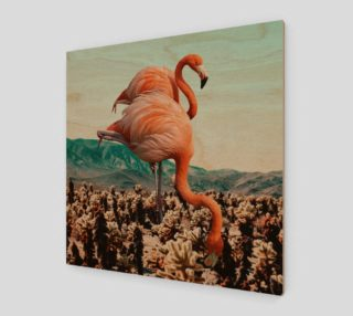 Flamingos In The Desert preview