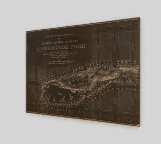 1887 Morningside Park Map, New York preview