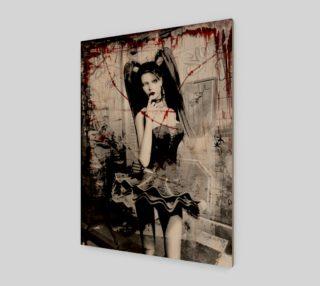 Aperçu de Sugar Did A Bad Bad Thing Gothic Horror art by Tabz Jones