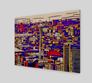 Aperçu de Space Needle Cubism