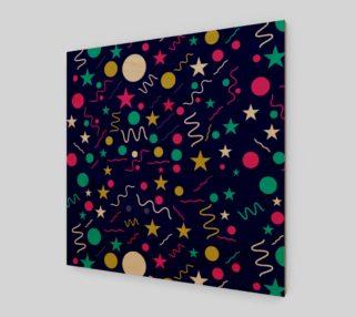 Aperçu de geometric organic shapes colorful