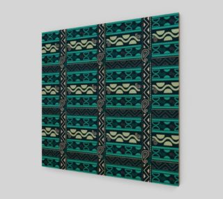 blue ethnic tribal borders preview