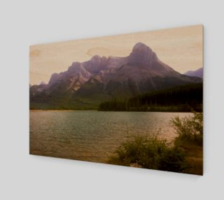 Misty Mountain Wall Art preview