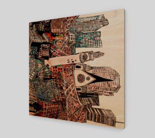 la toure MTL reproduction canvas 32 x24 preview