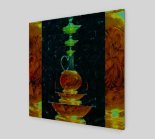 Oil in Glass Decanter Dark preview