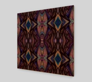 Geometric Watercolor on wood preview