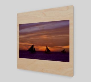 Boracay sailboats. preview