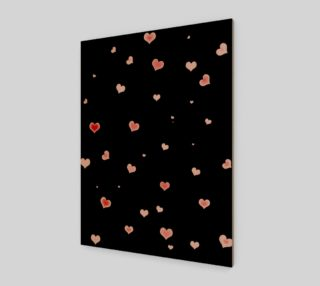 Hearts In The Night Wall Art preview