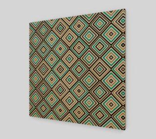 Aperçu de seamless monochrome rhombus