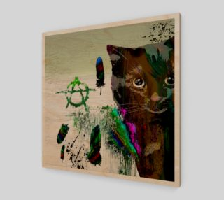 Cat №2 Wall Art Print preview