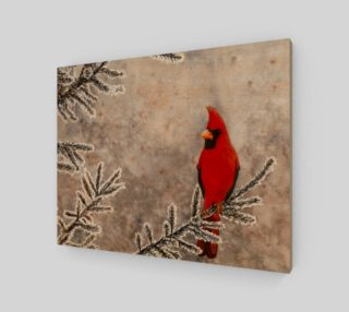 The red cardinal in winter preview