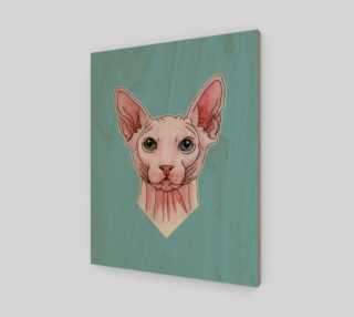 Sphynx cat portrait preview