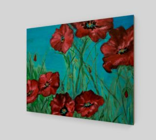 Linda's Poppies 20 x 16 preview