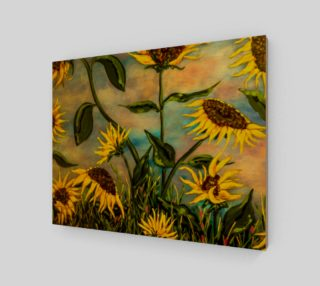 Sunflowers 11 x 14 preview