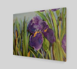Purple Iris 20 x 16 preview