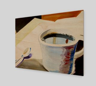 Relaxing Wake Up Coffee Painting preview