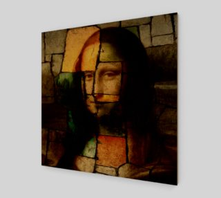 Pop Art Mona Lisa Wall Art preview