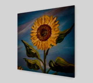 Sunflower Sky Wall preview