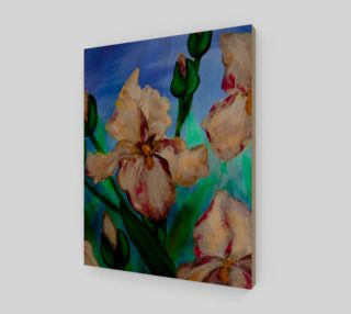 Variegated Irises Bold 11 x 14 preview