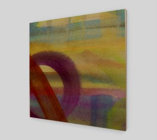 Tropical Watercolor Variation Wall Art preview
