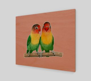 Fischer's lovebirds preview