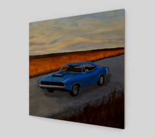 Aperçu de  Dodge Charger Wall Art