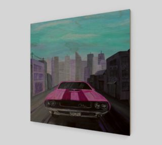 Dodge Challenger Wall Art preview