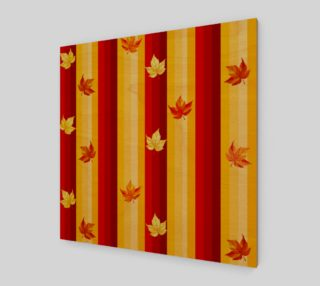 autumn leaves and stripes preview