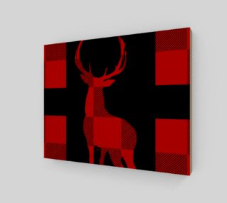 Christmas Lumberjacks Red Deer Silhouette preview