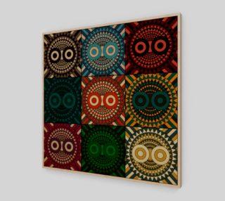 Aperçu de Polychrome Owl Mask